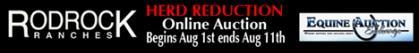 Rodrock Herd Reduction Online Auction, August 1-11