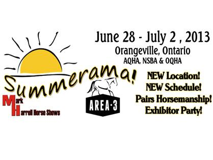 Record Number of Stalls Reserved For 2013 Summerama, June 28-July 2