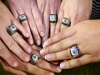 Auburn Equestrian Team Receives 2013 National Championship Rings in Front of 88,000 Fans