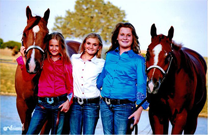 """""""We Are The Three Best Friends That Anyone Could Have""""… Navigating the World of Competitive Horse Shows With Three 13-Year-Old Girls"""