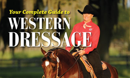 """Your Complete Guide to Western Dressage: 12 Lessons to Take You From The Basics To Your First Show"" by Lynn Palm with Sue M. Copeland"