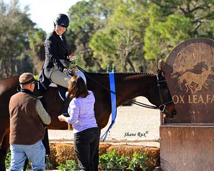 Winners of the Debut of National Quarter Horse League Classes in 2014
