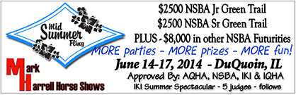 Showbills Available For 2014 Mid Summer Fling/IKI Summer Spectacular, Nine Sets of Points in IL.
