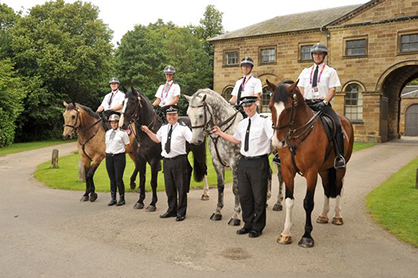 Sad Farewell as Last Cleveland Police Horses From Recently Disbanded Unit Move to New Home