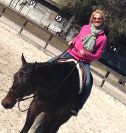 Best Wishes to Terrie Booth on a Speedy Recovery From Riding Accident