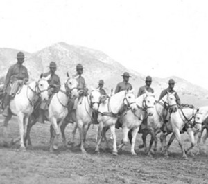 The Buffalo Soldier: An American Horseman will be on exhibit February 18 to April 30. (Photo courtesy of Fort Huachuca Museum)