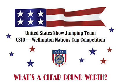 What's a Clear Round Worth? Cheer on TEAM USA!
