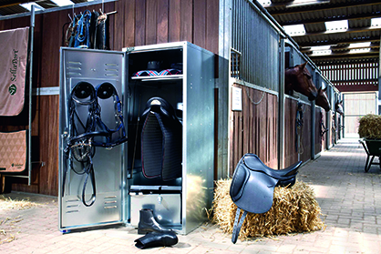 SaddleLockers, An Invention that Could Help Prevent Horse Show Theft?