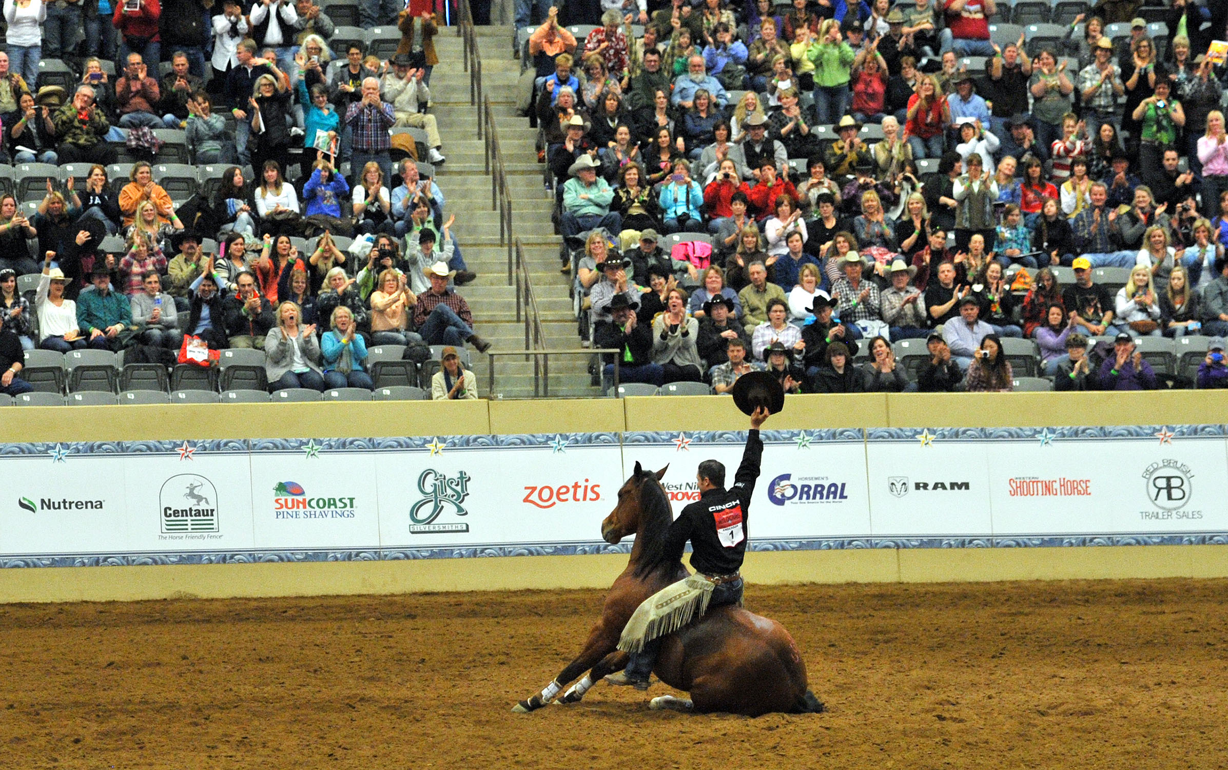 Wild Card Competitor Stuns the Crowd Winning 2014 Road To The Horse Competition