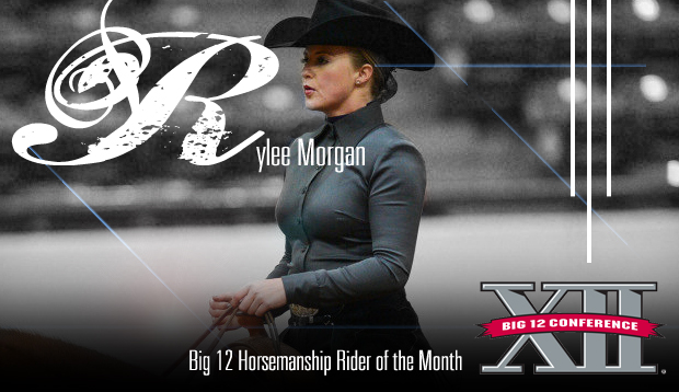 APHA's Rylee Morgan Honored as Big 12 Horsemanship Rider of the Month