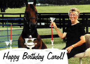 Happy 91st Birthday to Carol Harris!