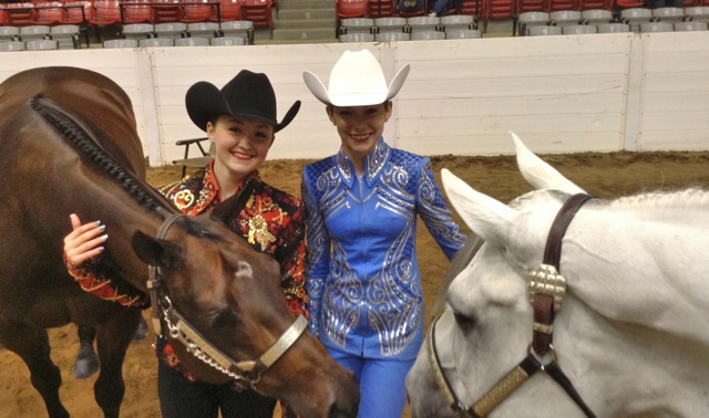 Around the Ring Photos at 2014 EOQHA April Show