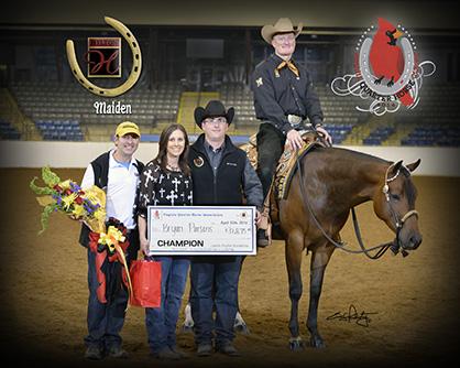 Randy Wilson and Certainly On Sundi Win 2014 Hylton Maiden $50,000 Western Pleasure