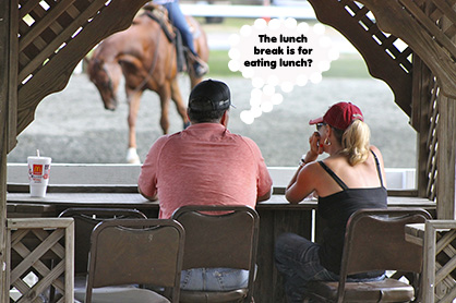 Healthy Horse Show Living: Loving the Lunch Break