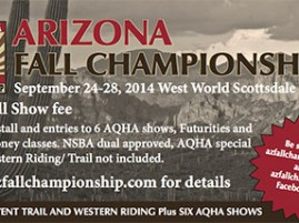 2014 Arizona Fall Championship is One Month Away!