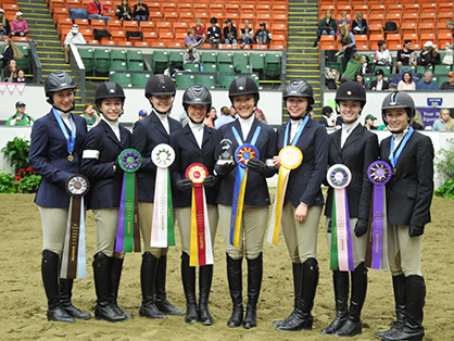 Results From 2014 IEA Hunt Seat National Finals