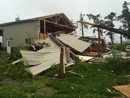 Eberspacher Family Recovering Following Devastating Nebraska Tornado