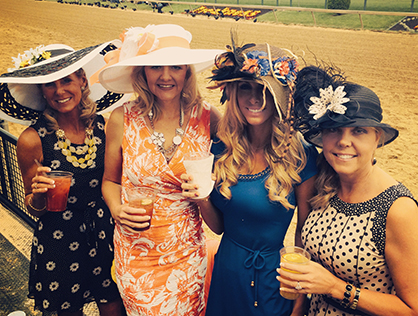 Quarter Horse Ladies Who Lunch- a Preakness Tradition