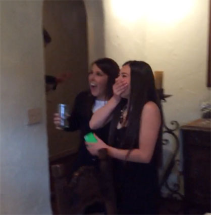 Priceless Reaction to a Sweet Sixteen Surprise…