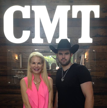 On the Road With Denny Strickland at the CMT Music Awards