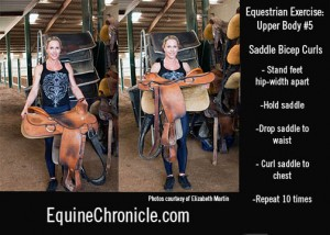 saddle curls