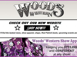 Check Out Woods' Western's New State-of-the-Art Website!