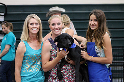 "Inaugural ""Paws Cause"" Is HUGE Hit at 2014 AQHYA World Show- 22 Dogs Adopted and Counting!"