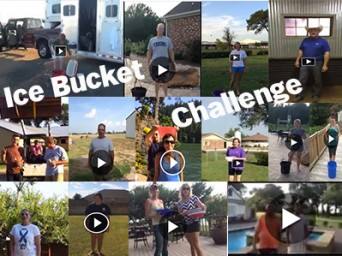 Top Trainers and Competitors Get Soaking Wet For ALS Ice Bucket Challenge
