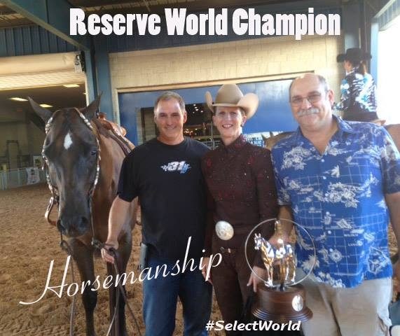 2014 AQHA Adequan Select World Show All-Around Results