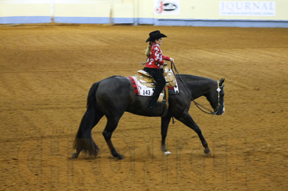 "9-Year-Old ""Scooter"" Augsburger is Youngest Competitor Returning to AQHYA World Show Trail Finals"