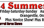 Results From 2014 Orangeville All Novice/AQHA Show