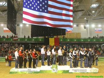 Team USA is Golden at 2014 World Equestrian Games!