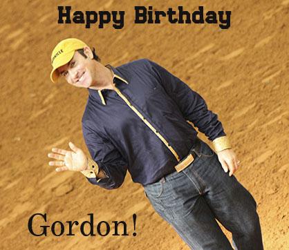Happy Birthday Gordon!