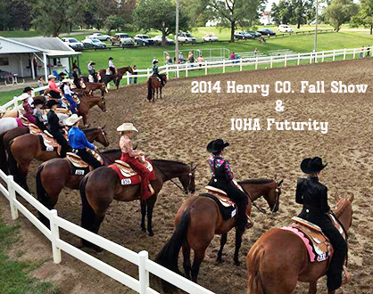 Results From Henry CO. Fall Show/IQHA Futurity