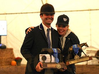 Three-Year-Old Hunter Under Saddle Wins Go To Thompson and Painter