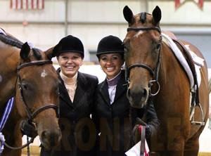 Laurel Champlin and Courtney Battison