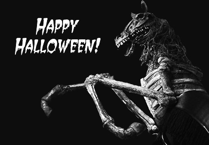 Happy Haunted Horse Halloween From The Equine Chronicle!