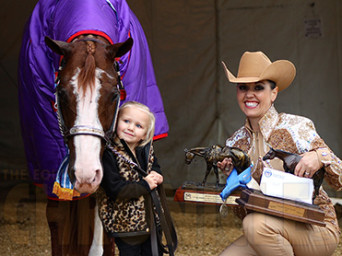 Kaleena Weakly and Hours Yours and Mine Win Congress Amateur Showmanship