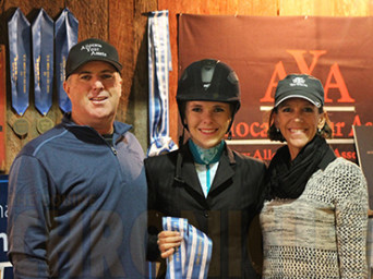 Congress Youth Hunter Under Saddle Wins Go to Taylor Searles and Cassidy Champlin