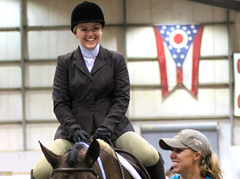 Shelby Ratliff and Willy Has Potential Win Congress Amateur Hunter Under Saddle