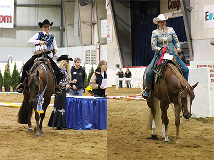 Bailey Anderson and Zippos Kat Man Do Score 232.5 to Win Youth 15-18 Trail