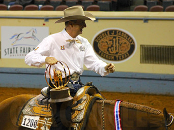 Like Mother, Like Son, How Bout At Midnight Claims 2-Year-Old Western Pleasure World Championship With Gil Galyean