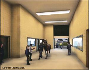 Equine Export Staging Area, © ARK Development, LLC, 2011-2013