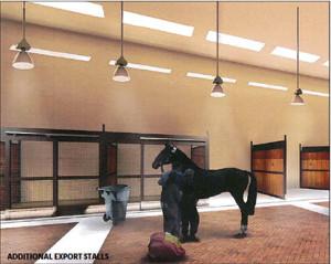 Equine Export Stalling Area, © ARK Development, LLC, 2011-2013