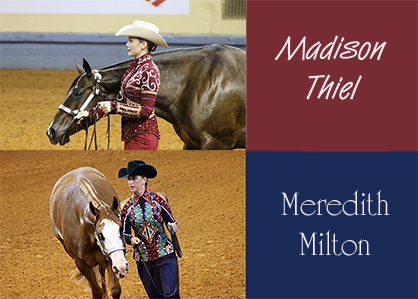 Congratulations Madison Thiel (AQHA) and Meredith Milton (APHA) on Signing With SC Equestrian Team!