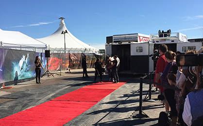 Horse Stars Walk the Red Carpet in Texas in Preparation For Largest Touring Show on Earth