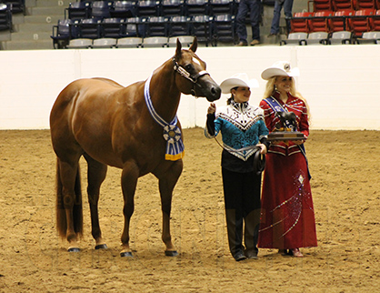 Congress Youth Halter Mares Winners Include Erhardt Ware