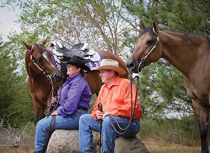 Mike & Joanne Garnett – Horse Life
