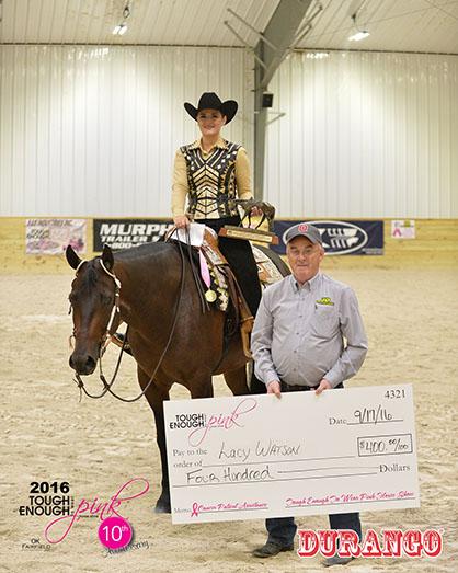 $1,000 Non Pro JD Equipment Western Pleasure Champion