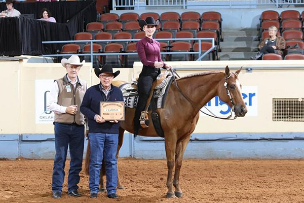Riders Selected For Aqha Collegiate Horsemanship Challenge